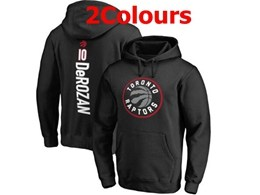 Mens Nba Toronto Raptors #10 Demar Derozan Hoodie Jersey With Pocket 2 Colors