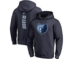 Mens Nba Memphis Grizzlies #33 Marc Gasol Blue Hoodie Jersey With Pocket