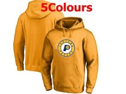Mens Nba Indiana Pacers Blank Hoodie Jersey With Pocket 5 Colors