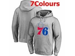 Mens Nba Philadelphia 76ers Blank Hoodie Jersey With Pocket 7 Colors