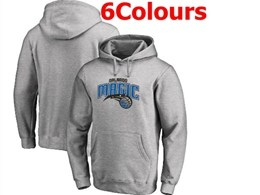 Mens Nba Orlando Magic Blank Hoodie Jersey With Pocket 6 Colors