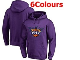 Mens Nba Phoenix Suns Blank Hoodie Jersey With Pocket 6 Colors
