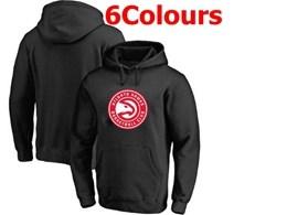 Mens Nba Atlanta Hawks Blank Hoodie Jersey With Pocket 6 Colors