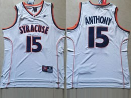 Mens Ncaa Nba Syracuse #15 Anthony White Nike Jersey
