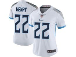 Mens Women Youth Nfl Tennessee Titans #22 Derrick Henry White New Vapor Untouchable Limited Player Jersey