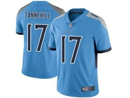 Mens Women Youth Nfl Tennessee Titans #17 Ryan Tannehill Light Blue New Vapor Untouchable Limited Player Jersey