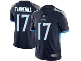 Mens Women Youth Nfl Tennessee Titans #17 Ryan Tannehill Navy Blue New Vapor Untouchable Limited Player Jersey