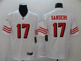 Mens Nfl San Francisco 49ers #17 Emmanuel Sanders White New Vapor Untouchable Limited Jerseys