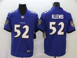Mens Nfl Baltimore Ravens #52 Ray Lewis Purple Vapor Untouchable Limited Jerseys
