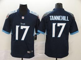 Mens Women Youth Nfl Tennessee Titans #17 Ryan Tannehill Navy Blue 2020 Nike Vapor Untouchable Limited Player Jersey