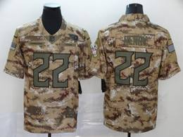 Mens Nfl Tennessee Titans #22 Derrick Henry 2018 Camo Salute To Service Limited Jersey