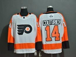 Mens Nhl Philadelphia Flyers #14 Sean Couturier White Adidas Jersey