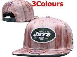 Mens Nfl New York Jets Black&gray&pink Snapback Adjustable Hats 3 Colors