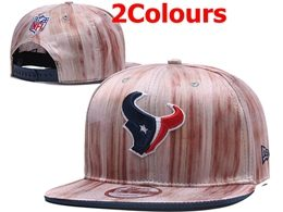 Mens Nfl Houston Texans Black&pink Snapback Adjustable Hats 2 Colors