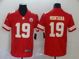 Mens Nfl Kansas City Chiefs #19 Montana Red Vapor Untouchable Limited Jersey