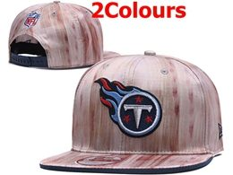 Mens Nfl Tennessee Titans Gray&pink Snapback Adjustable Hats 2 Colors