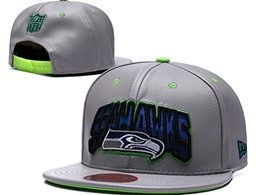 Mens Nfl Seattle Seahawks Green Gray Snapback Adjustable Hats