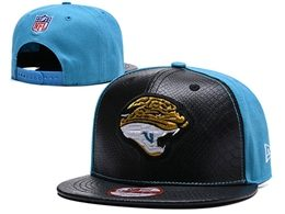 Mens Nfl Carolina Panthers Black&blue Snapback Adjustable Hats