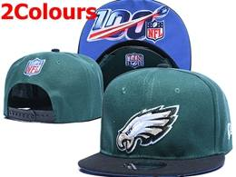 Mens Nfl Philadelphia Eagles Gray&100th Snapback Adjustable Hats 2 Colors