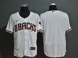 Mens Mlb Arizona Diamondbacks Blank White Flex Base Nike Jersey