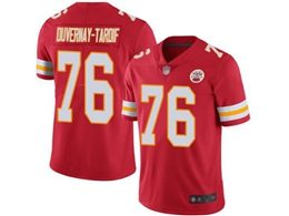 Mens Nfl Kansas City Chiefs #76 Laurent Duvernay-tardif Red Vapor Untouchable Limited Jersey