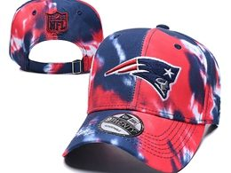 Mens Nfl New England Patriots Multicolour Snapback Adjustable Curved Hats