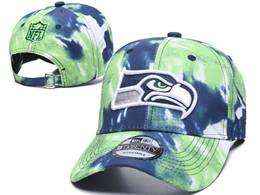 Mens Nfl Seattle Seahawks Multicolour Snapback Adjustable Curved Hats