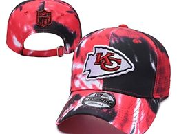 Mens Nfl Kansas City Chiefs Multicolour Snapback Adjustable Curved Hats