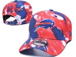 Mens Nfl Buffalo Bills Multicolour Snapback Adjustable Curved Hats