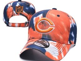 Mens Nfl Chicago Bears Multicolour Snapback Adjustable Curved Hats