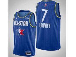 Mens 2020 All Star Nba Toronto Raptors #7 Kyle Lowry Blue Swingman Jordan Brand Jersey