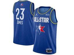 Mens 2020 All Star Nba Los Angeles Lakers #23 Lebron James Blue Swingman Jordan Brand Jersey