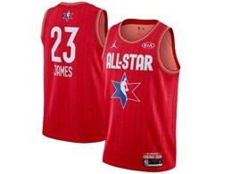 Mens 2020 All Star Nba Los Angeles Lakers #23 Lebron James Red Swingman Jordan Brand Jersey