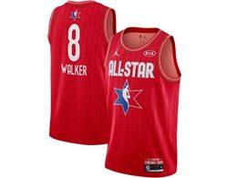 Mens 2020 All Star New Nba Boston Celtics #8 Kemba Walker Red Swingman Jordan Brand Jersey