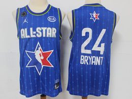 Mens 2020 All Star Nba Mens Nba Los Angeles Lakers #24 Kobe Bryant Blue Swingman Jordan Brand Jersey
