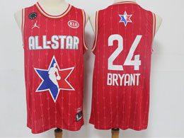 Mens 2020 All Star Nba Mens Nba Los Angeles Lakers #24 Kobe Bryant Red Swingman Jordan Brand Jersey