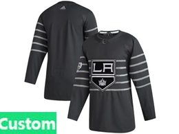 Mens Nhl Los Angeles Kings Black Custom Made 2020 All Star Adidas Jersey