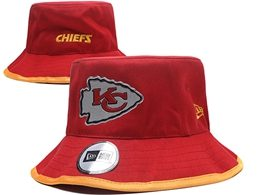 Mens Nfl Kansas City Chiefs Red Bucket Hats