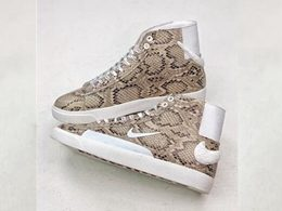 Mens And Women Soulland X Nike Sb Blazer Fri.day Running Shoes One Color