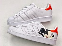 Mens And Women Adidas Super Star Running White Shoes