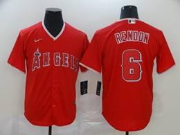 Mens Mlb Washington Nationals #6 Anthony Rendon Red Cool Base Nike Jersey