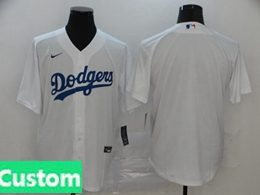Mens Womens Youth Mlb Los Angeles Dodgers Custom Made White Cool Base Nike Jersey