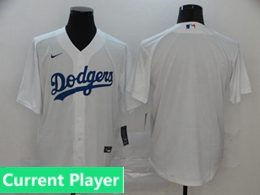 Mens Womens Youth Mlb Los Angeles Dodgers White Current Player Cool Base Nike Jersey