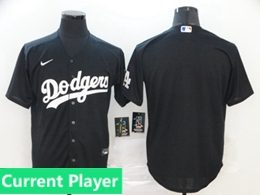 Mens Womens Youth Mlb Los Angeles Dodgers Black Current Player Cool Base 2020 Nike Jersey