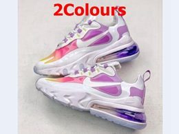 Women New Nike Air Max 270 React Running Shoes 2 Colors
