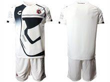 Mens Soccer Club Tijuana ( Custom Made ) White Star Wars Short Sleeve Jersey