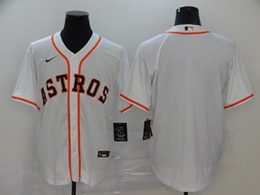 Mens Mlb Houston Astros Blank White Cool Base Nike Jersey