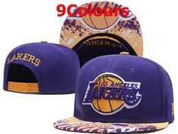 Mens Nba Los Angeles Lakers Snapback Adjustable Hats 9 Colors