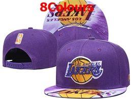 Mens Nba Los Angeles Lakers Snapback Adjustable Hats 8 Colors