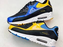 Mens Nike Air Max 90 Running Shoes One Color